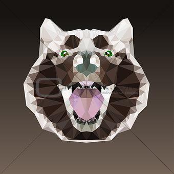 Animal head vector