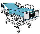 Hospital position bed