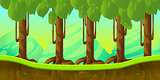 forest Game Background
