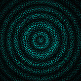 Vector Illustration of Beautiful Abstract  Hypnotic Background
