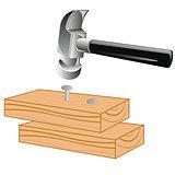 Board and gavel