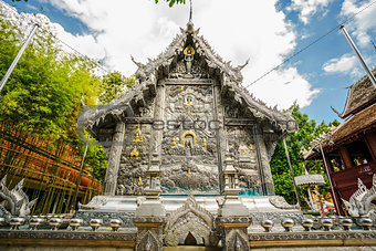 Siver Temple in Thailand