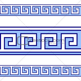 Greek geometrical vector pattern
