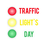 Traffic Lights Day card