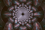 Abstract fractal fantasy psychedelic pattern.