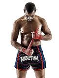 Muay Thai kickboxing kickboxer boxing man