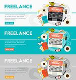 Freelance Concept Banner