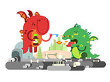 Ill dragon character