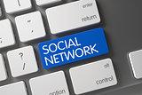Social Network Button.