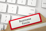 Card File  Business Tools.