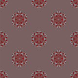Creative Ornamental Seamless Pattern