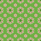 Creative Seamless Ornamental Mosaic Pattern