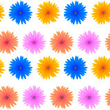 Seamless Colorful Flower Pattern