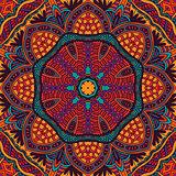 Ethnic geometric print
