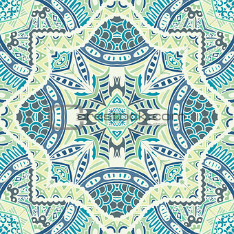 abstract mosaic tiles seamless pattern ornamental