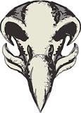 Eagle Skull Retro