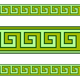 Greek geometrical vector pattern