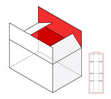 Simple vector box template