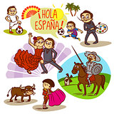 Spain Flamenco Corrida Football Travelling