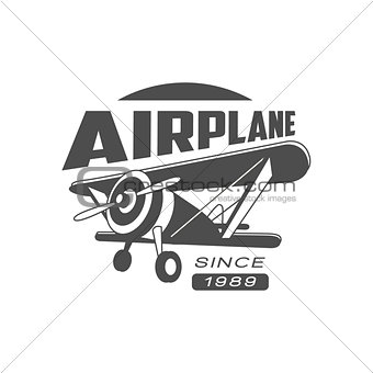Airplane Emblem Design