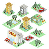 Set of the Isometric City
