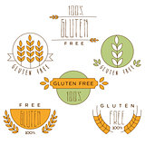 Gluten Free, Natural Product Label