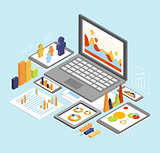 Business Analysis Isometric
