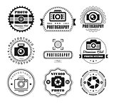 Collection of Photography Logo Templates.