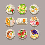 Breakfast Concept With Fresh Food
