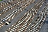 Empty railway lines