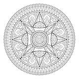 mandala oriental motifs