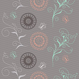 seamless pattern in boho style