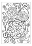 Imade with mandalas and flowers