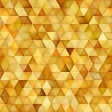 Vector Seamless Multicolor Gradient Triangle Shape Grid Geometric Pattern