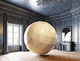 sphere in the luxury room