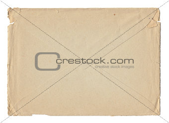 Old postal envelope