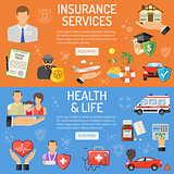 Insurance Services Banners