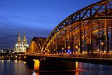 Hohenzollern Bridge in Cologne