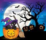 Halloween cat theme image 7