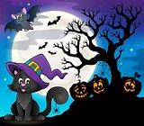 Halloween cat theme image 8