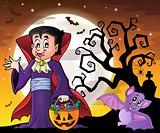 Halloween vampire theme image 8