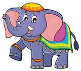 Indian elephant theme image 1