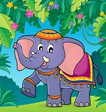Indian elephant theme image 2