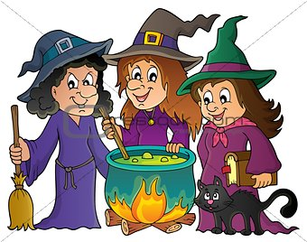 Three witches theme image 1