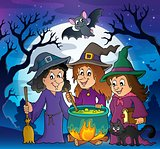 Three witches theme image 3