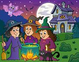 Three witches theme image 4