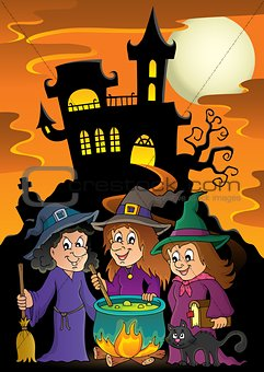 Three witches theme image 5