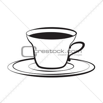cup and plate