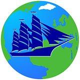 Sailing ship-16