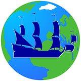 Sailing ship-2